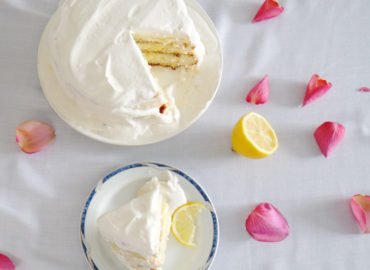 Lemon Curd Shortcake for Valentines